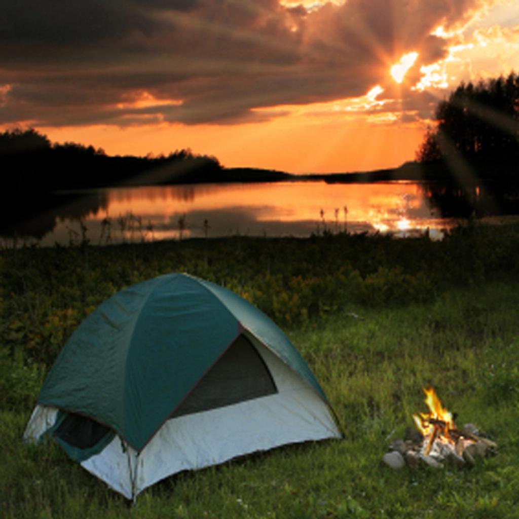 Студенты в палатке 25 фотография