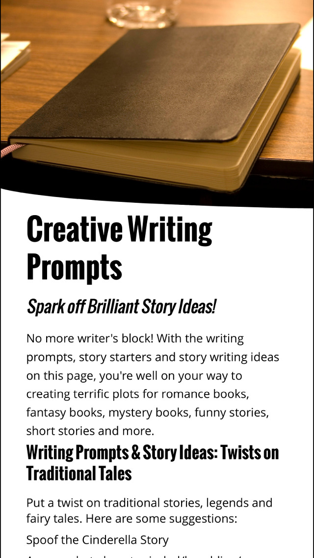 short story writing prompts