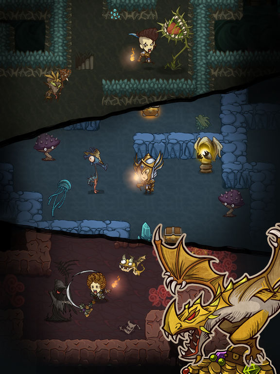 The Greedy Cave Screenshot