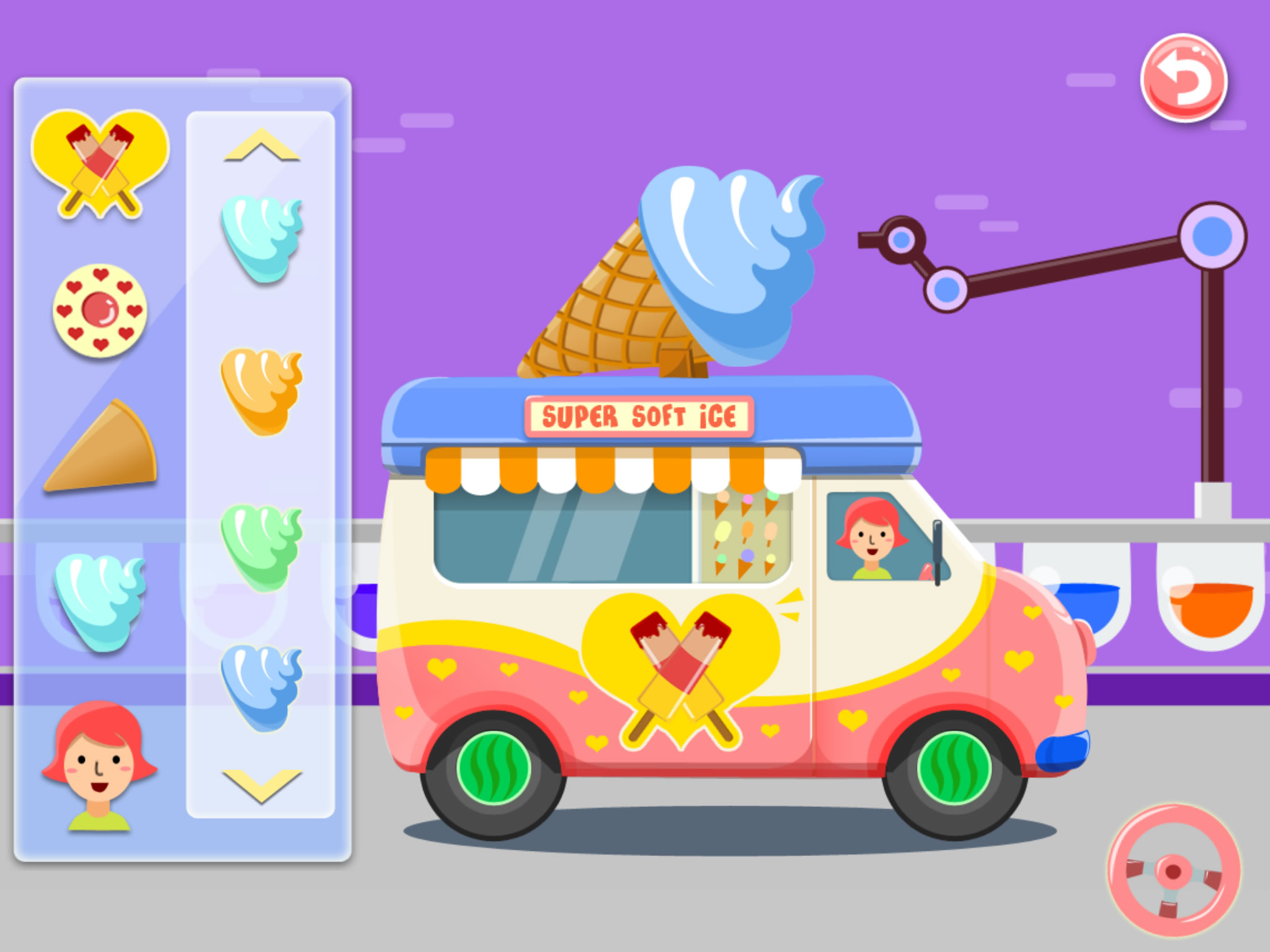 Ice Cream Truck - Game For Kids
