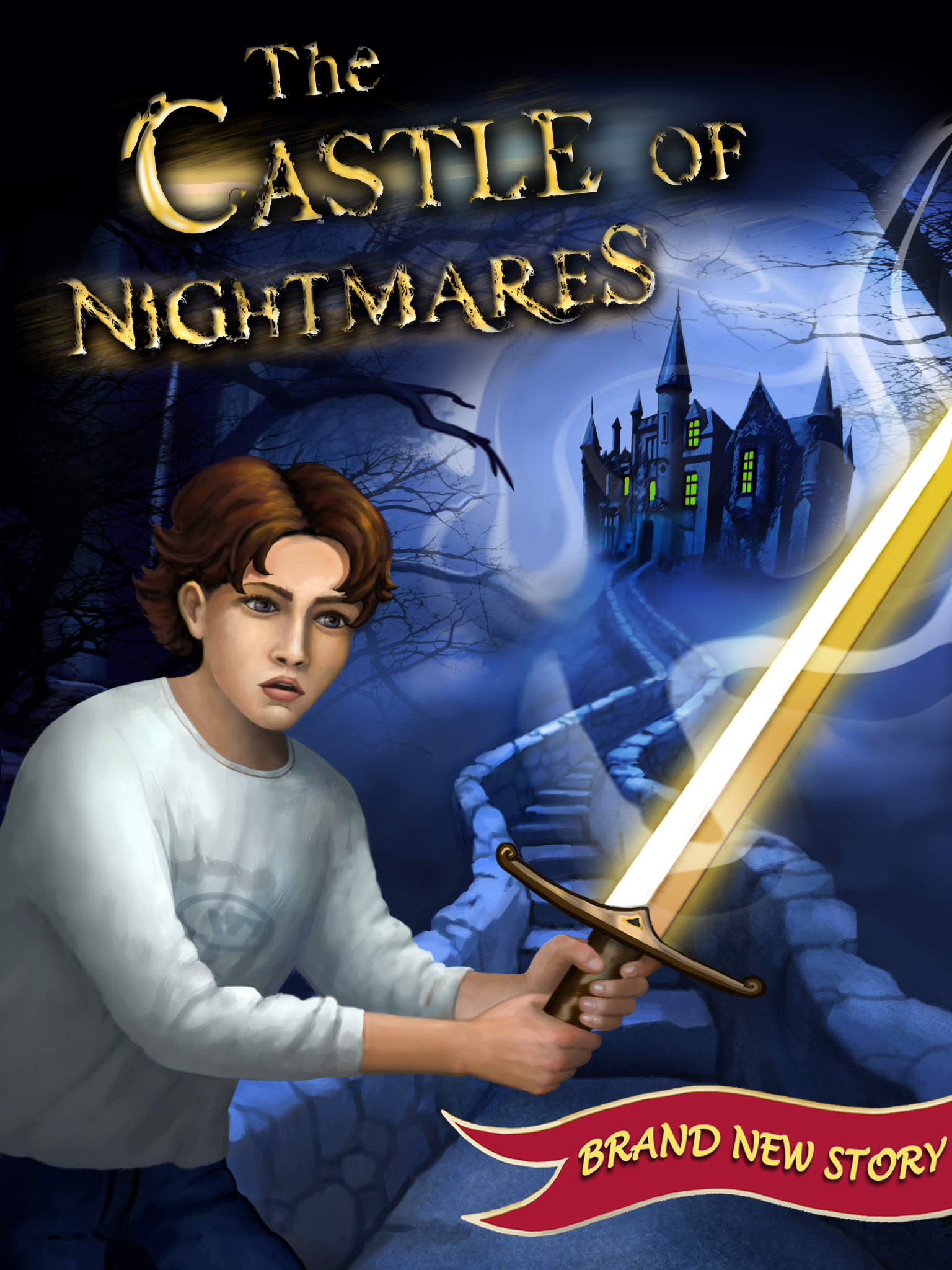 The Castle of Nightmares - Adventure Story Book for iPad by Pixy Interactive