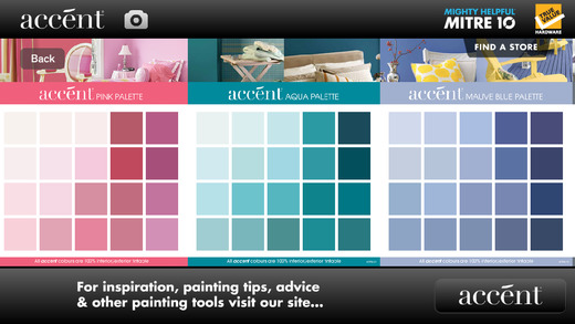 accent Paint Range