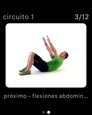7 Min Workout - Tabla de 7 Minutos Screenshot