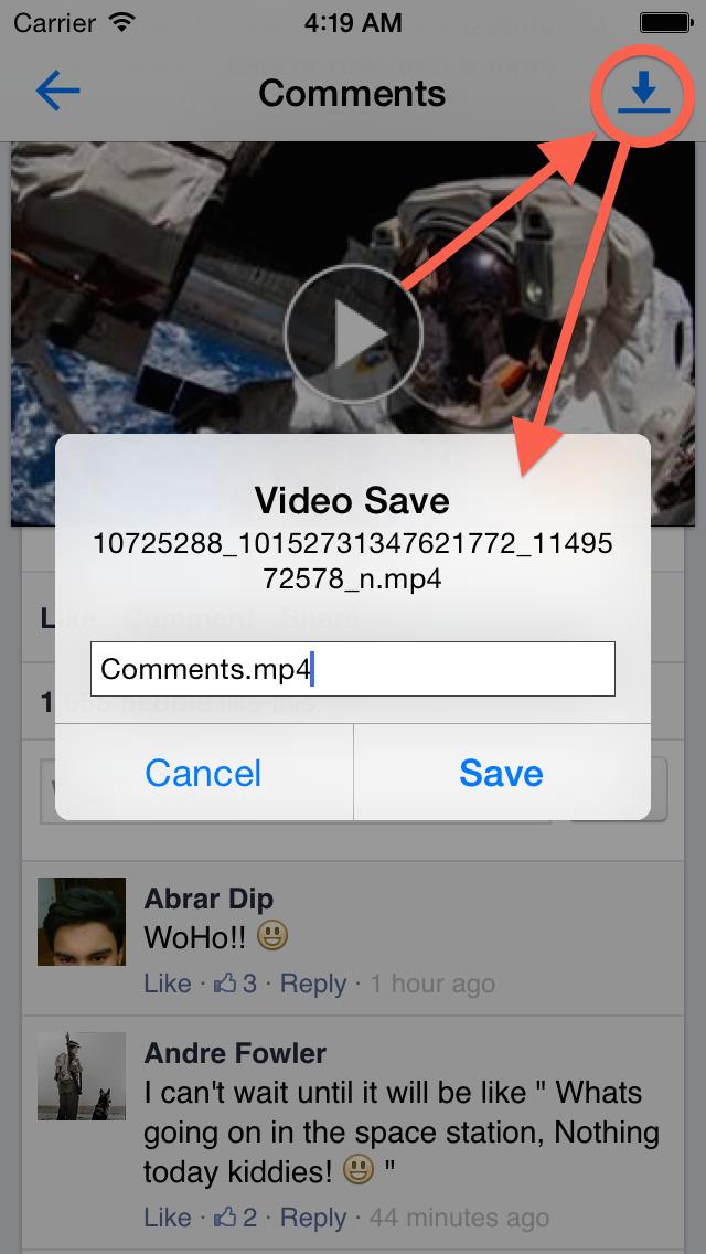 Easy Video Downloader for Facebook - Free Screenshot