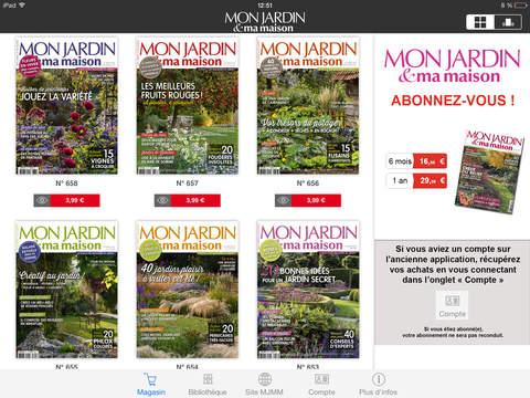 mon jardin ma maison magazine par reworld media factory. Black Bedroom Furniture Sets. Home Design Ideas