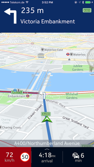 HERE WeGo - City navigation & Offline maps Screenshot