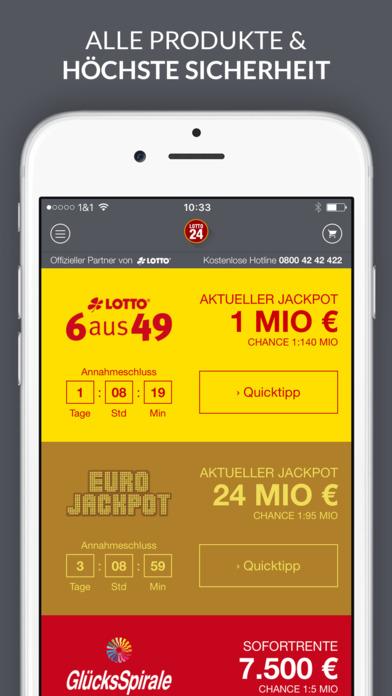 Auszahlung Lottogewinn