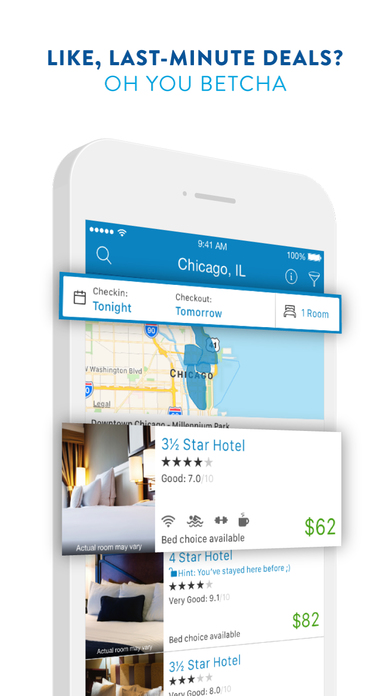 Priceline.com Hotels, Flights and Rental Cars Screenshot