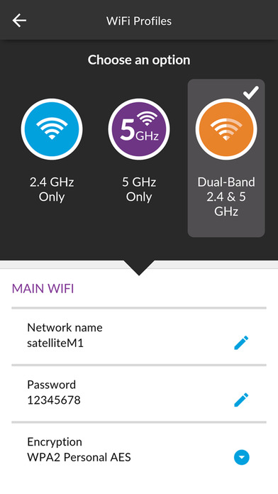 NETGEAR Mobile Screenshot