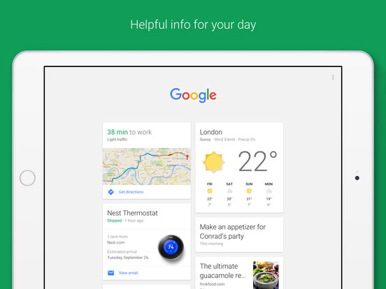 Google – the official Search app Screenshot