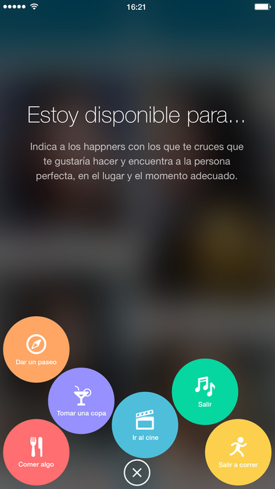 happn — App de encuentros y citas Screenshot