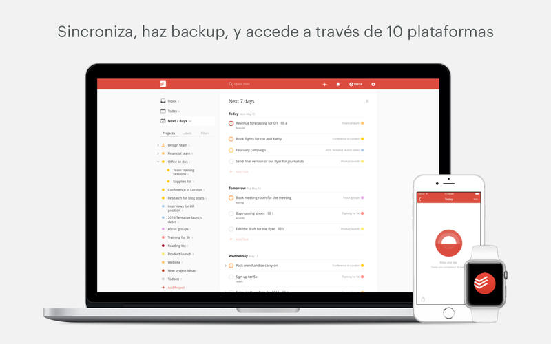 Todoist: Lista de Tareas | To-Do List Screenshot