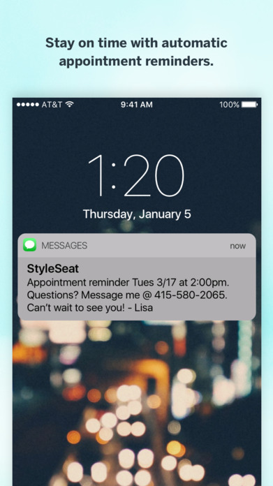 StyleSeat: Beauty and Barber Appointments Near You Screenshot