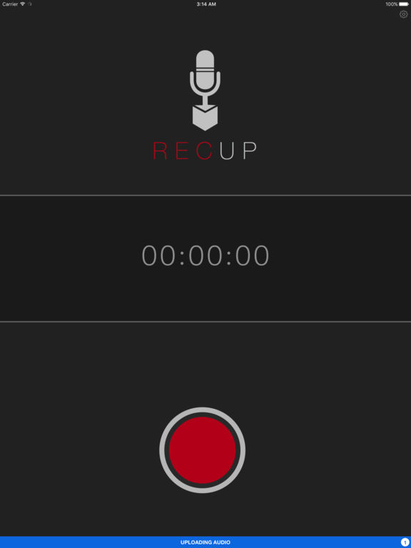 RecUp (was DropVox) Record Voice Memos to Dropbox Screenshot