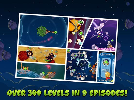 Angry Birds Space HD Screenshot
