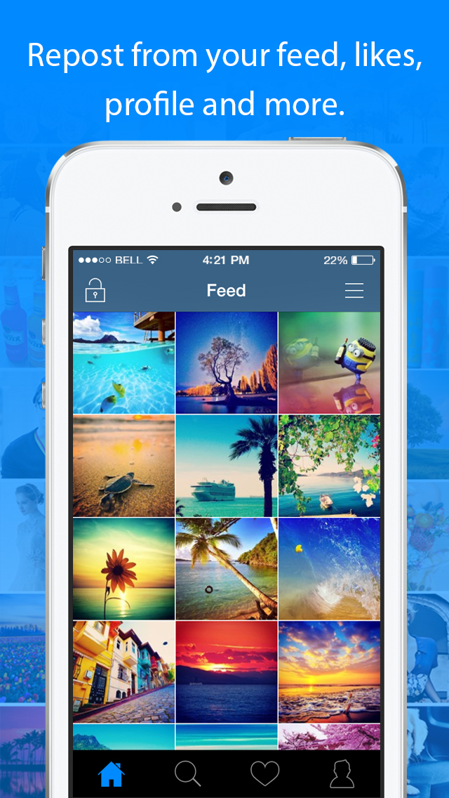 InstaSave for Instagram - Download & Repost your own Videos & Photos for Free Screenshot
