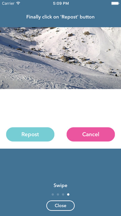 InstaSave - Repost Your Own Photo & Video for Free Screenshot