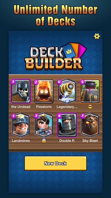 deck builder for clash royale arena tips strategies sull 39 app store. Black Bedroom Furniture Sets. Home Design Ideas