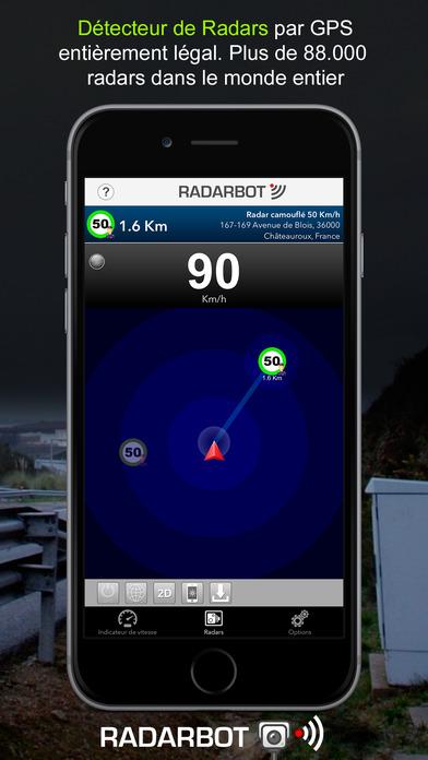 radarbot gratuit avertisseur de radars france et free mac software. Black Bedroom Furniture Sets. Home Design Ideas