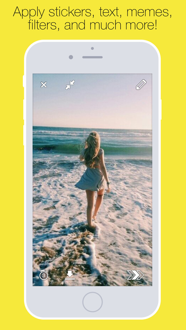 Uploader Free for Snapchat - Quick Upload Snap from Camera Roll Screenshot
