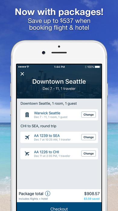 Orbitz Flight, Hotel, Car, Packages, & Activities Screenshot