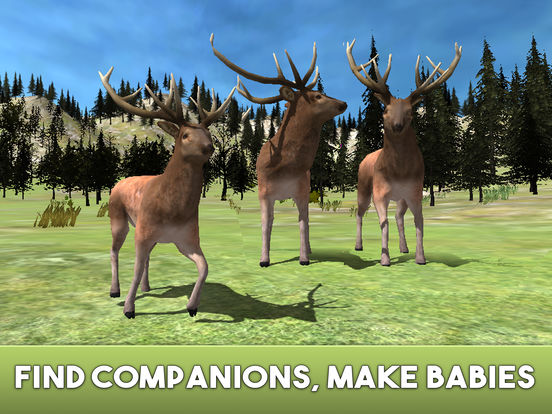 Deer Simulator 2017 Full IPA Cracked for iOS Free Download