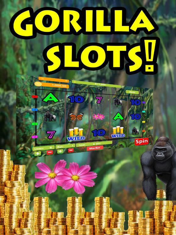 Slot machine gorilla