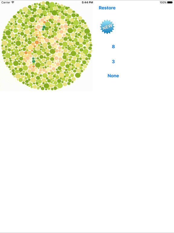 Color Blindness Screenshot
