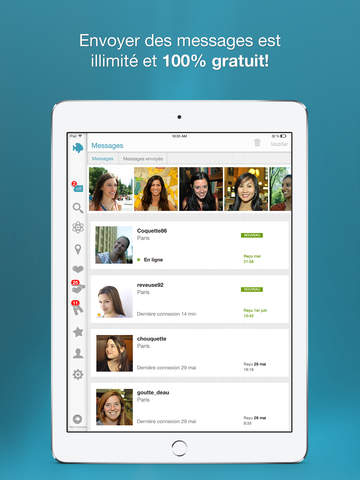 application rencontre gratuit android