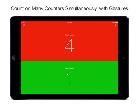 Simple Counter – Tally Counters and Scorekeeper Done Right Screenshot