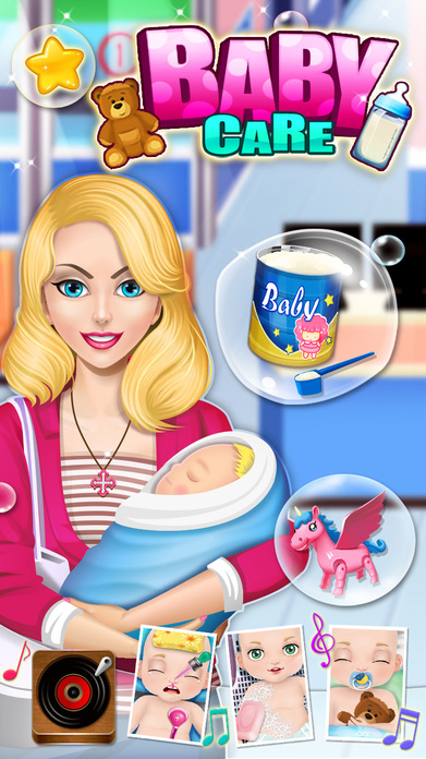 Baby Care & Baby Hospital - Kids games Screenshot