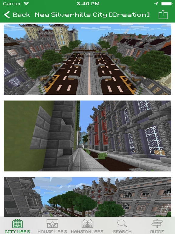 City Maps for Minecraft PE - Download free Maps & MineMaps