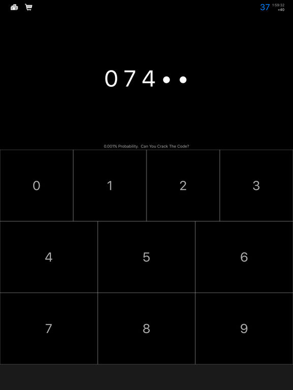 CodeCracker - Guess the 5 Digit Code Screenshot