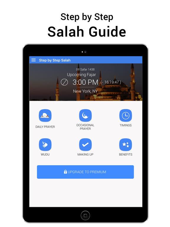 Step By Step Salat - Islamic Prayer per Web Triangle LLC
