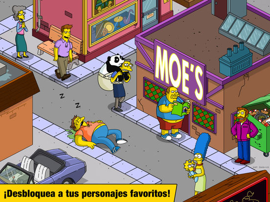 Los Simpson™: Springfield Screenshot