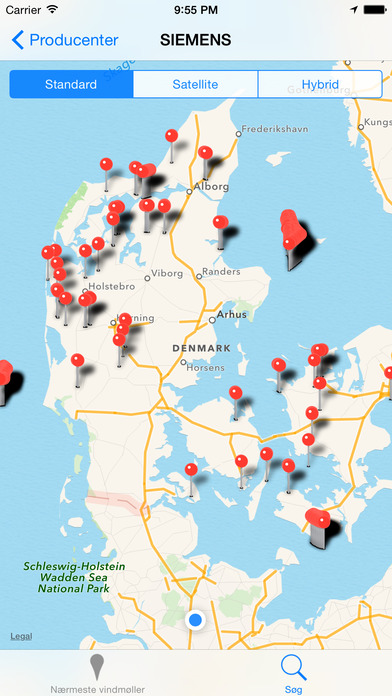 Vindmølle Radar Screenshot