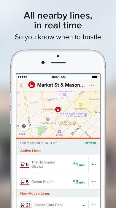Moovit: Live Transit App - Bus, Train & Subway Screenshot