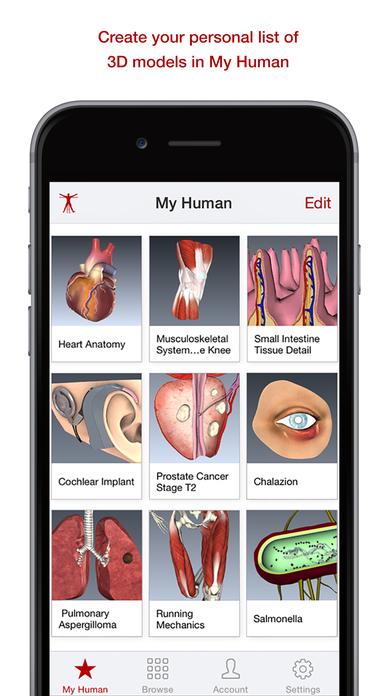 BioDigital Human - Anatomy and Health Conditions in 3D! Screenshot