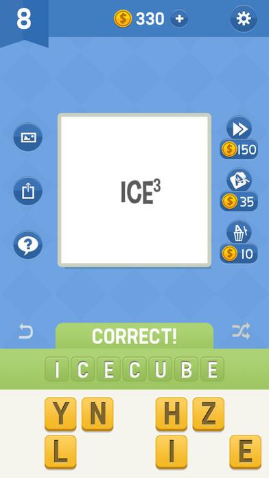 Plexiword Free: Fun Addicting Guessing Word Quiz Screenshot