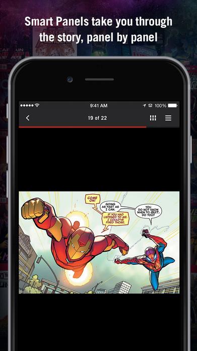 Marvel Unlimited Comics Screenshot