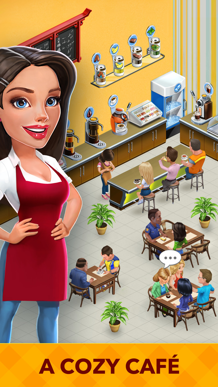 My Cafe: Recipes & Stories - World Restaurant Game Screenshot