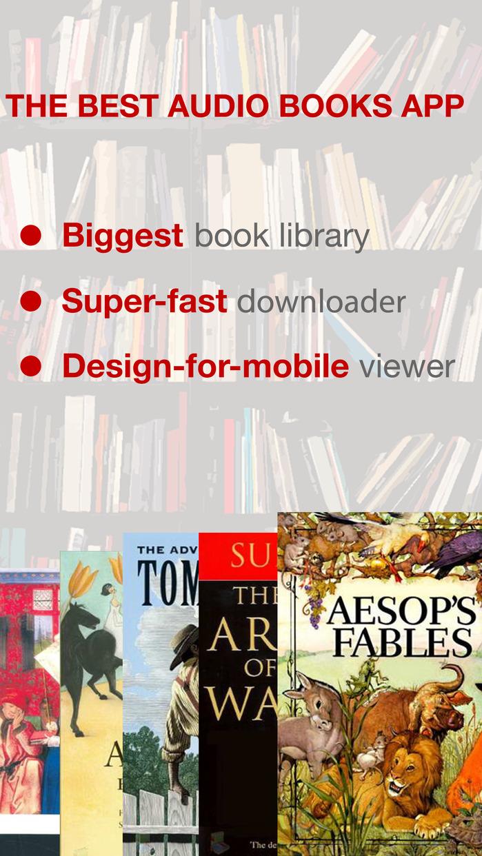 Audiobooks 7K+ - High Quality Audio Books Library Screenshot