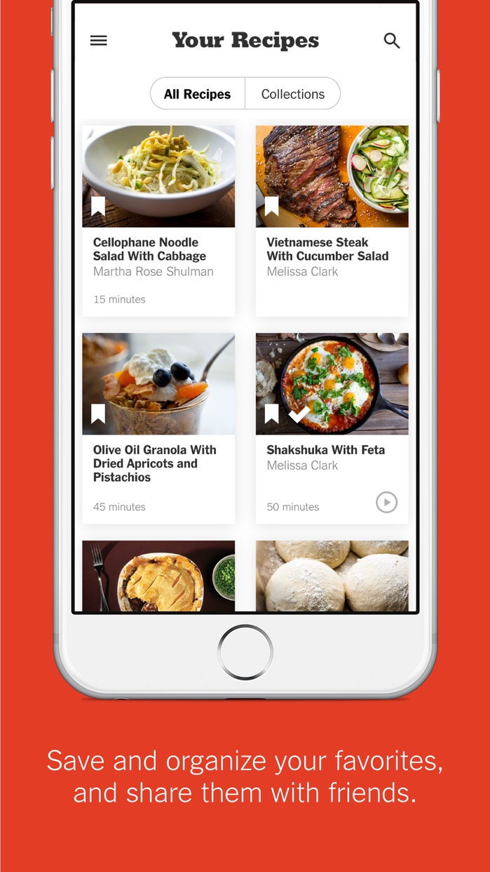 NYT Cooking - Recipes from The New York Times Screenshot