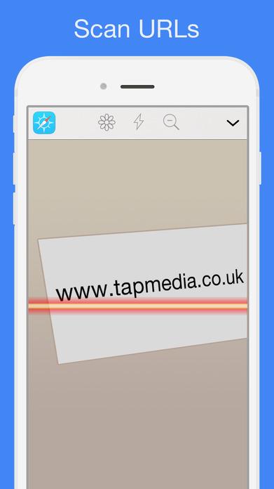 QR Reader for iPhone Screenshot
