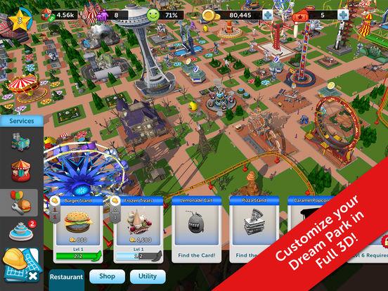Theme park cheats iphone