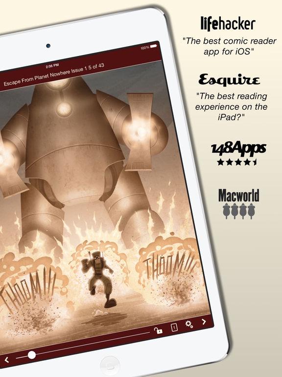 Comic Zeal Comic Book Reader Screenshots