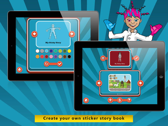Sticker Story - The storybook creator for kids Screenshots