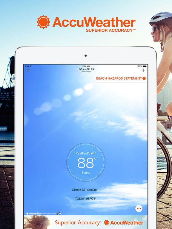 AccuWeather Platinum - Weather for Life Screenshots