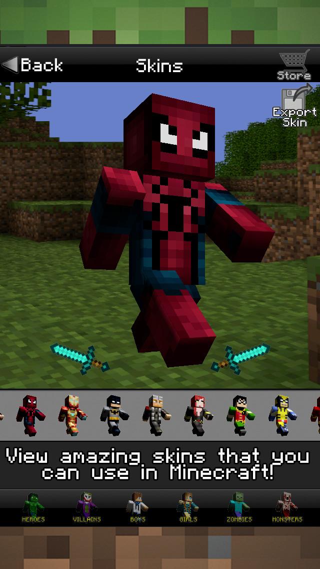 CraftHQ Mobs Und Crafting Guide Mit Skins Für Minecraft Revenue - Minecraft spieler skin download