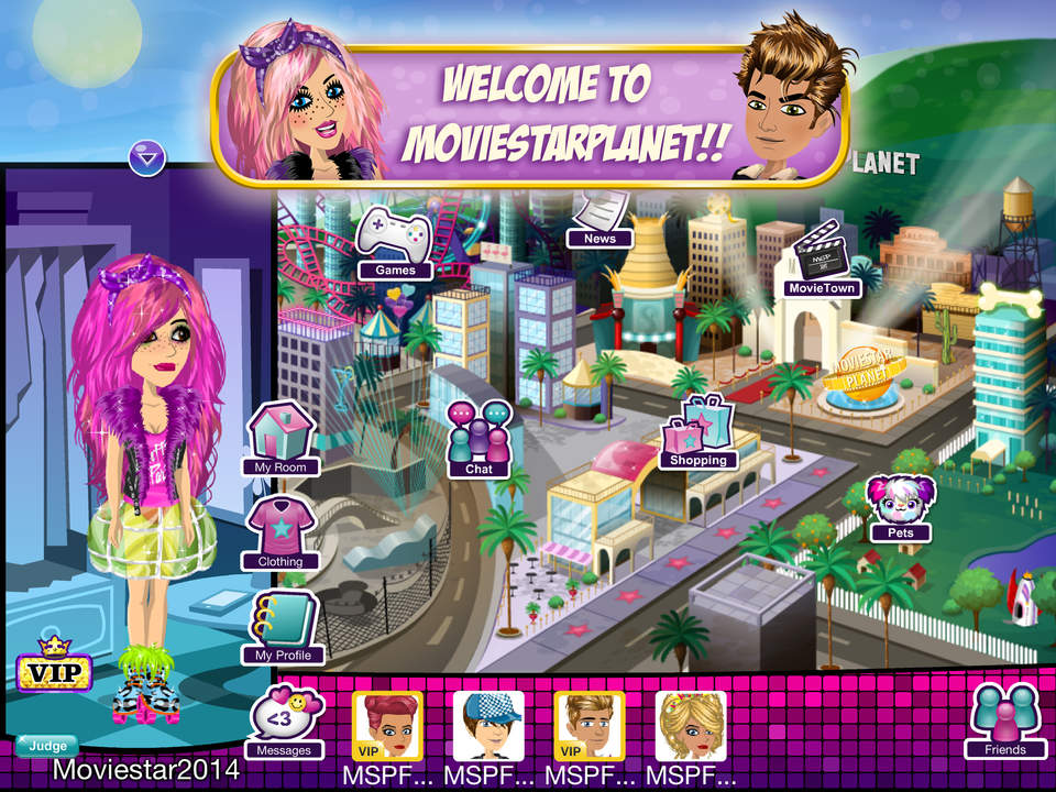 Games like moviestarplanet with dating service